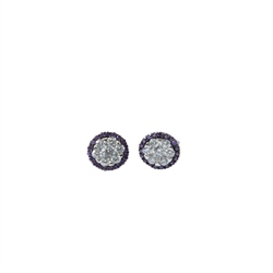 Designer Jewellery Amethyst Sparkle Earrings