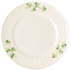 Belleek Classic Personalised Shamrock Side Plate