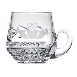 Belleek Classic Personalised Claddagh Christening Mug