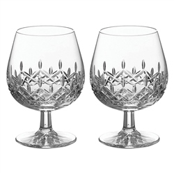 Galway Crystal Personalised Galway Crystal Longford Brandy Pair