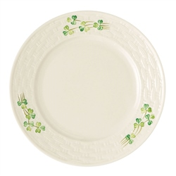 Belleek Classic Personalised Belleek Classic Shamrock Salad Plate