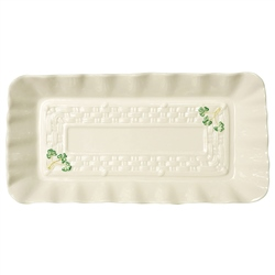 Belleek Classic Personalised Belleek Classic Shamrock Tray