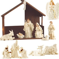 Belleek Living 15 Piece Nativity Set