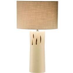 Belleek Living Pasture Lamp & Shade  UK Fitting