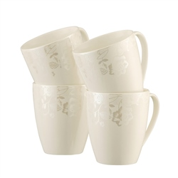 Belleek Living Evermore 4 Mugs Set