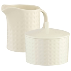 Belleek Living Grafton Sugar & Cream Set
