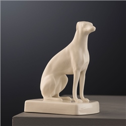 Belleek Classic Masterpiece Collection - Female Greyhound Sitting