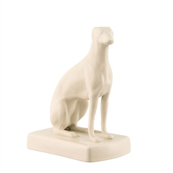 Belleek Classic Female Greyhound Sitting