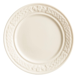 Belleek Classic Claddagh Accent Plate