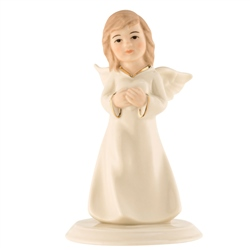 Belleek Living Angel of Love Figurine