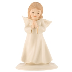 belleek classic mini angel of prayer - Christmas Angel Figurines