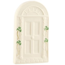 Belleek Classic Personalised Welcome Door Wall Plaque