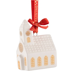 Belleek Living Church Miniature Ornament