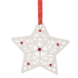 Belleek Living Pierced Christmas Star