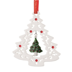Belleek Living Pierced Christmas Tree
