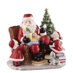Aynsley Santas Christmas Gift Scene