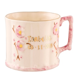 Belleek Classic Personalised Girl Name Mug
