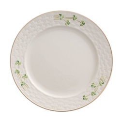 Belleek Classic 1880 - Gold Shamrock Salad Plate