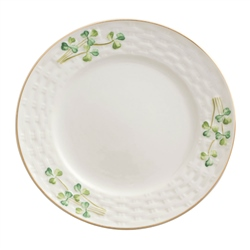 Belleek Classic 1880 - Gold Shamrock Side Plate