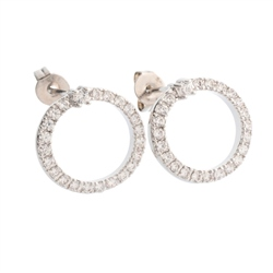 Belleek Designer Jewellery Halo Earrings