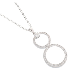 Belleek Designer Jewellery Halo Necklace