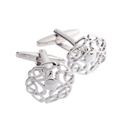 Belleek Designer Jewellery Love Knot Cufflinks