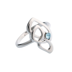 Belleek Designer Jewellery Love Knot Ring