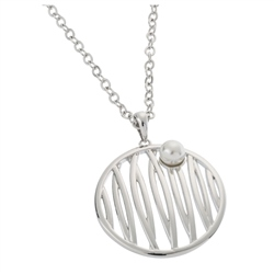 Belleek Designer Jewellery Reed Necklace