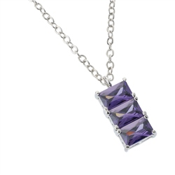 Belleek Designer Jewellery Violet Necklace