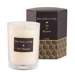 Belleek Living Fig & Bergamot Candle