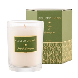 Belleek Living Sage & Eucalyptus Candle