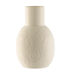 "Belleek Living Swirl 6"" Vase"