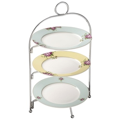 Aynsley Archive Rose Three Tier Server Stand