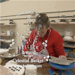 Belleek Classic Annual Basket 2019 Celestial