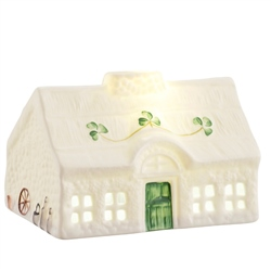 Belleek Classic Blarney Cottage LED Light