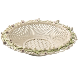 Belleek Classic Masterpiece Laurel Basket