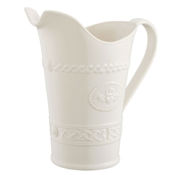 Belleek Classic Claddagh Pitcher