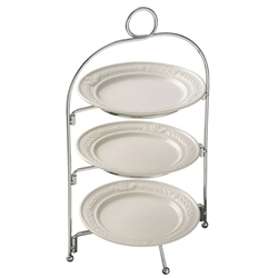 Belleek Classic Claddagh Three Tier Server Stand *Belleek.com Exclusive*
