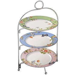 Aynsley Cottage Garden 3 Tier Server Stand