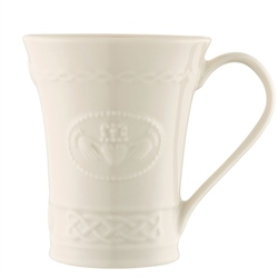 Belleek Classic Personalised Claddagh Mug