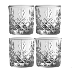 Galway Crystal Renmore DOF/Whiskey Set of 4