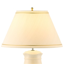 Belleek Living Springtime Gold Rim Shade