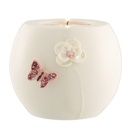 Belleek Living Colour Collection - Blush Votive