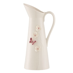 Belleek Living Colour Collection - Blush Pitcher