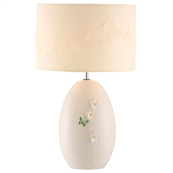 Belleek Living Colour Collection - Jade Lamp