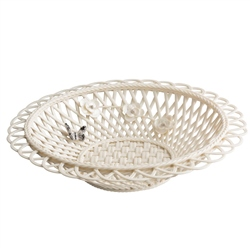 Belleek Living Colour Collection - Graphite Basket *Belleek.com - Exclusive*