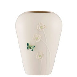 "Belleek Living Colour Collections - Jade 8"" Vase"