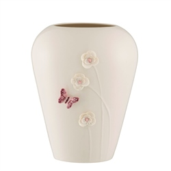 "Belleek Living Colour Collections - Blush 8"" Vase"