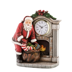 Aynsley Christmas Clock