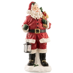 Aynsley Santa with Lantern 30""